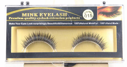 MINK LASHES 015 ONLY $5.99 - Bella Virgin Remy