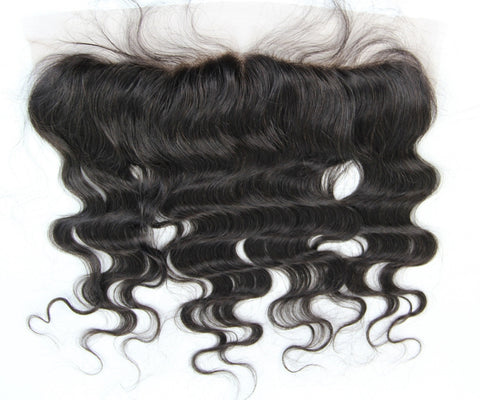 "LACE FRONTAL $115 Any Length 8""-18"" - Bella Virgin Remy"