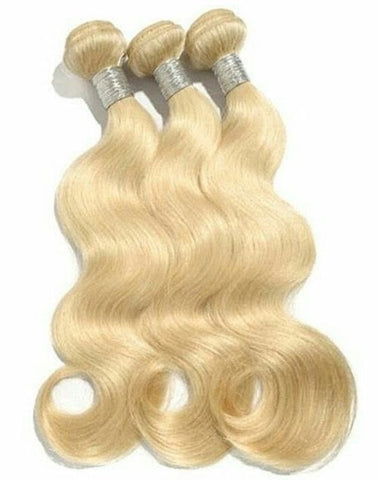 3 BUNDLE DEAL BLONDE 613 $200 - Bella Virgin Remy