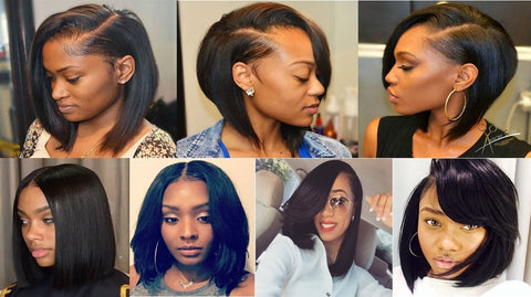 "3 bundles 10"" Bob Style only $65 FOR 3 BUNDLES - Bella Virgin Remy"
