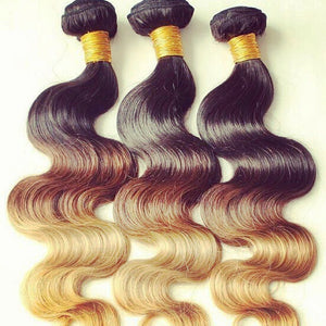 3 BUNDLE DEAL 3 TONES `1B/4/27 $200 - Bella Virgin Remy