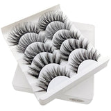 5 PAIRS MULTIPACK 3D SOFT MINK NATURAL EYELASHES EXTENSION - Bella Virgin Remy