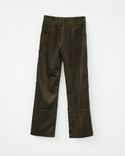 CORDUROY BOX TROUSERS