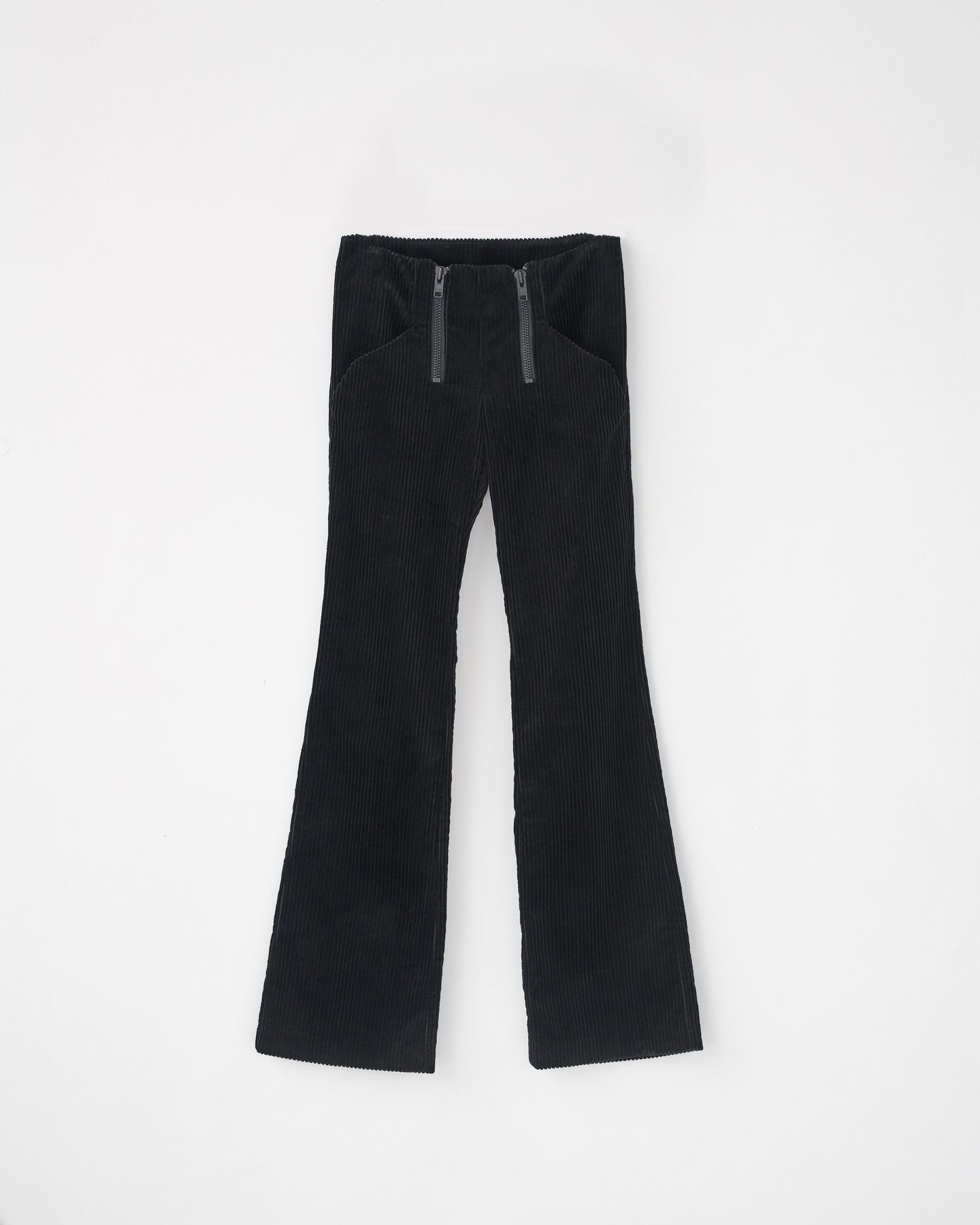 CORDUROY FLARED PANTS