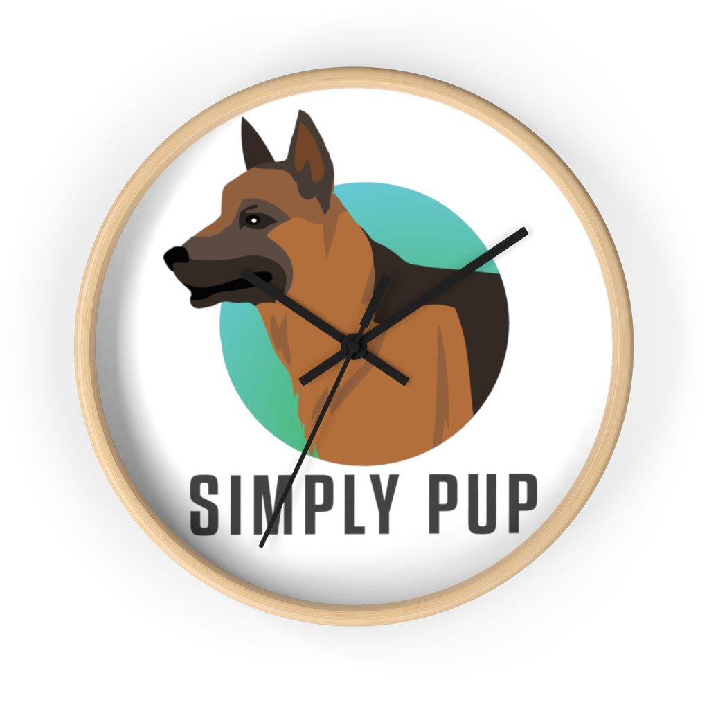 Simply Pup Wall clock