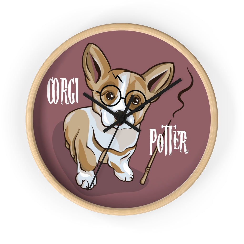 Corgi - Harry Potter - Wall clock