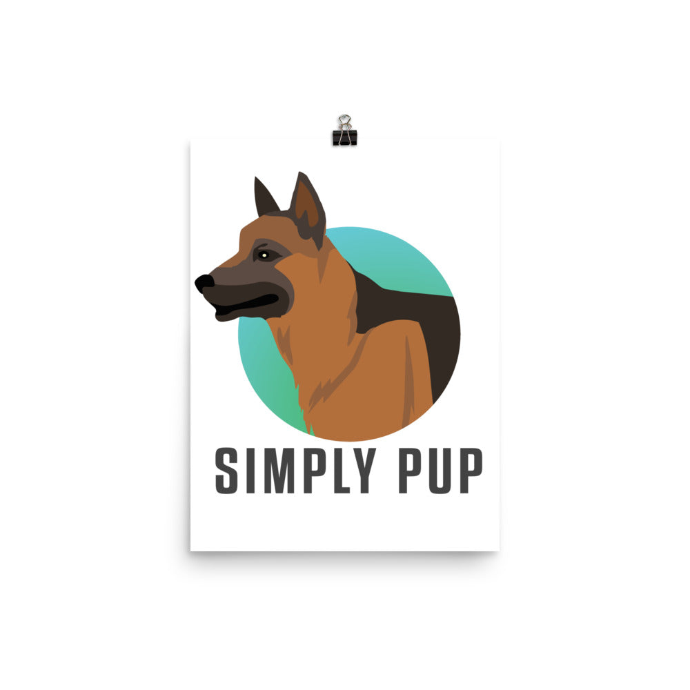 Simply Pup Poster