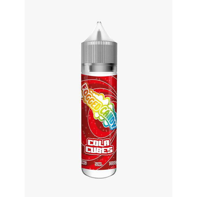 Fogged Candy Cola Cubes 0mg 50ml Shortfill