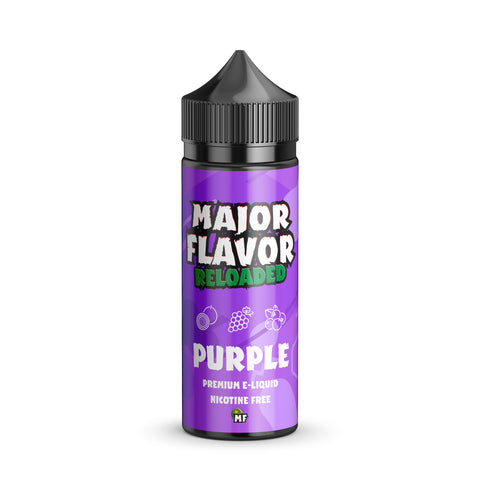 Major Flavor Reloaded Purple 100ml Shortfill