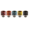 Snakeskin Metal Resin 510 Drip Tips (Straight)