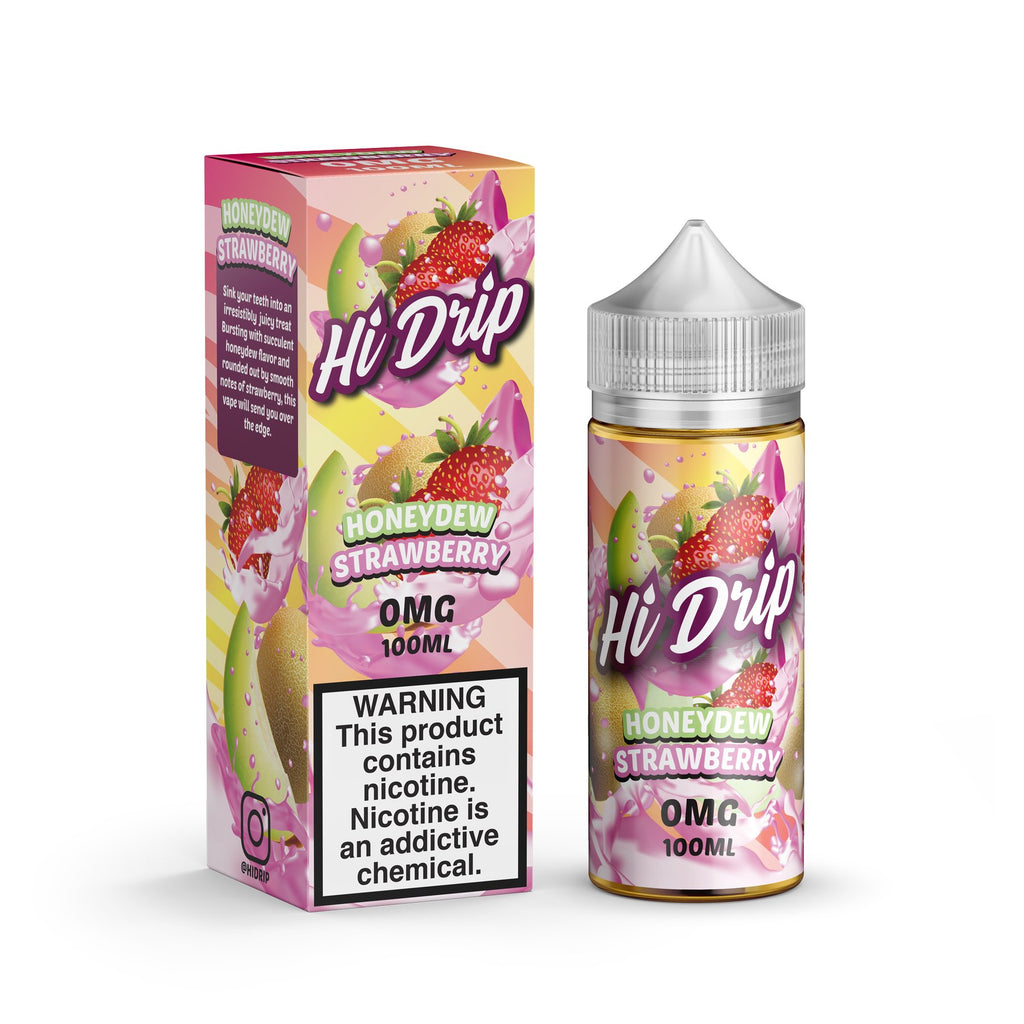 Hi Drip Honeydew Strawberry 100ml Shortfill
