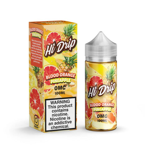 Hi Drip Blood Orange Pineapple 100ml Shortfill