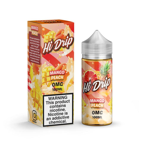 Hi Drip Mango Peach 100ml Shortfill
