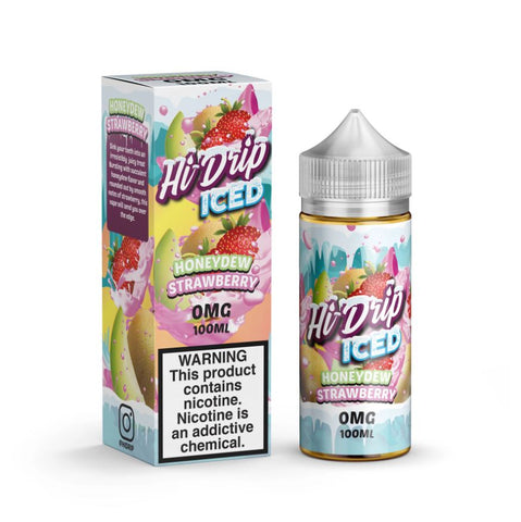 Hi Drip Honeydew Strawberry ICED 100ml Shortfill