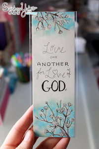 Love One Another - Illustrated Bookmark
