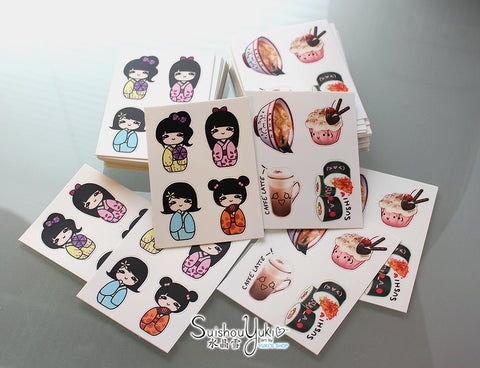 Cute Sticker Sheets