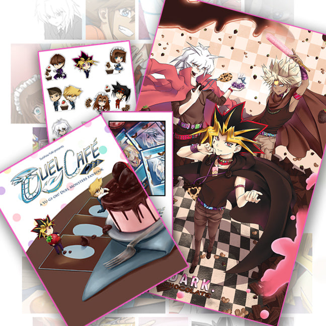 Duel Cafe Art Book Set (Limited Edition)
