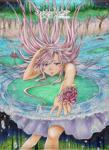 Waterlily - Original Copic Illustration