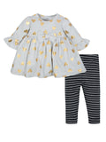 Dress & Leggings, 2-Piece Outfit Set (Baby Girls)