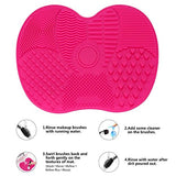 LYNN Silicone Makeup Brush Cleaning Mat Pad