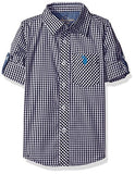 U.S. Polo Assn. Boys' Long Sleeve Single Pocket Sport Shirt