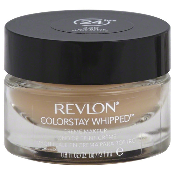 Revlon ColorStay Whipped Creme Makeup, 330 True Beige, .8 fl oz
