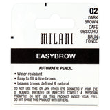Milani Easybrow Automatic Pencil, Dark Brown