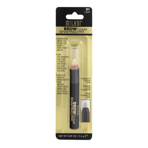 Milani Brow Shaping Wax Clear 01, 0.09 OZ