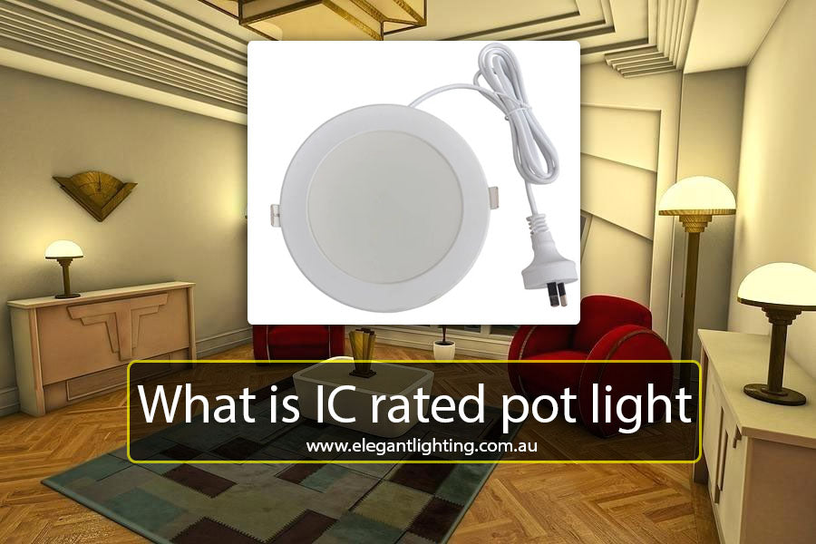 What is IC rated pot light