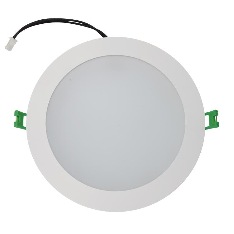 18W Warm White Cool White Dimmable LED Slimline Downlights SAA Approved 160mm cutout - Elegant Lighting
