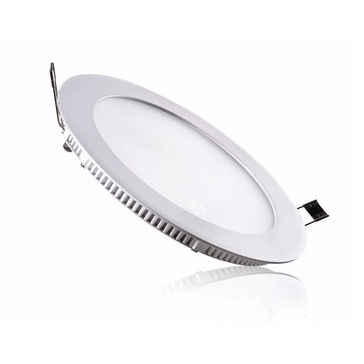 18W Warm/Cool White Dimmable LED Slimline Downlights SAA Approved 195mm cutout - Elegant Lighting