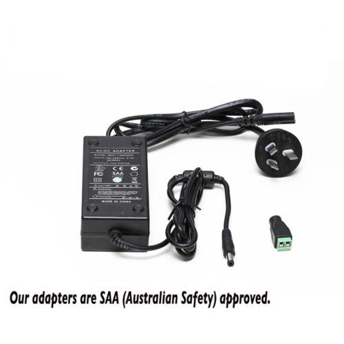 Power Supply Transformer Adaptor For LED Strip Lights - 12V , 5A SAA Approved - elegant-lighting