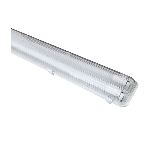 40W Weatherproof Outdoor LED Batten Complete Twin fittings with T8 LED tubes IP65 - elegant-lighting
