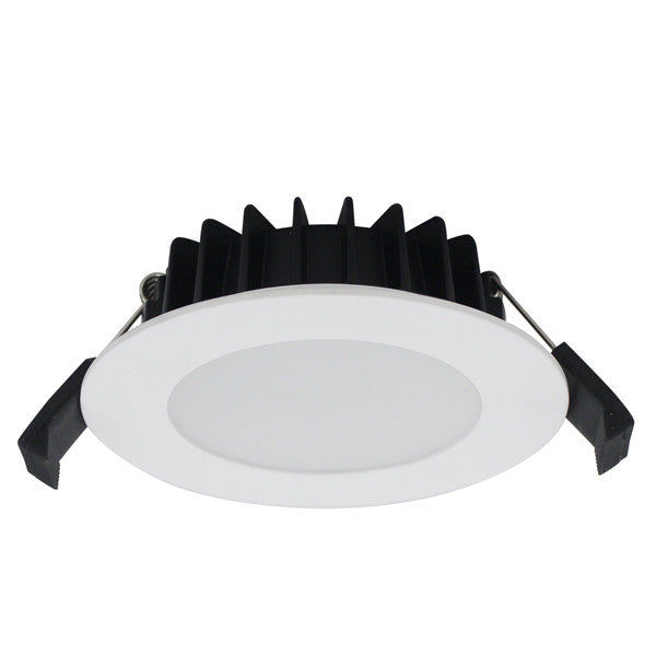 12W Warm White Cool White Dimmable LED Downlights SAA Approved 90mm cutout - Elegant Lighting