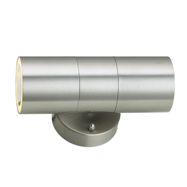 Outdoor Up and Down Wall Light - Stainless Steel Exterior Wall Light GU10 LED - Elegant Lighting