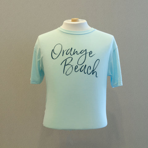Orange Beach Ice Blue - Short Sleeve