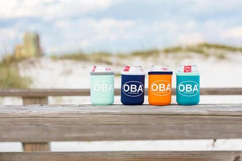 OBA Koozies - Shop Orange Beach Life
