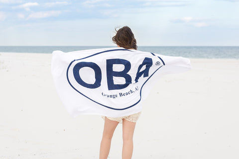 OBA Beach Towel - Shop Orange Beach Life