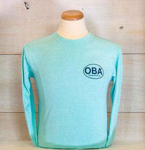 OBA 2 Color Boat Long Sleeve