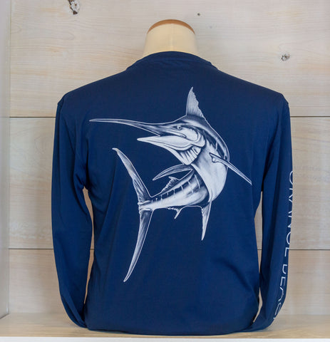 OBA Marlin Denali Performance Long Sleeve - Shop Orange Beach Life
