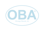 OBA Classic Stickers - Shop Orange Beach Life
