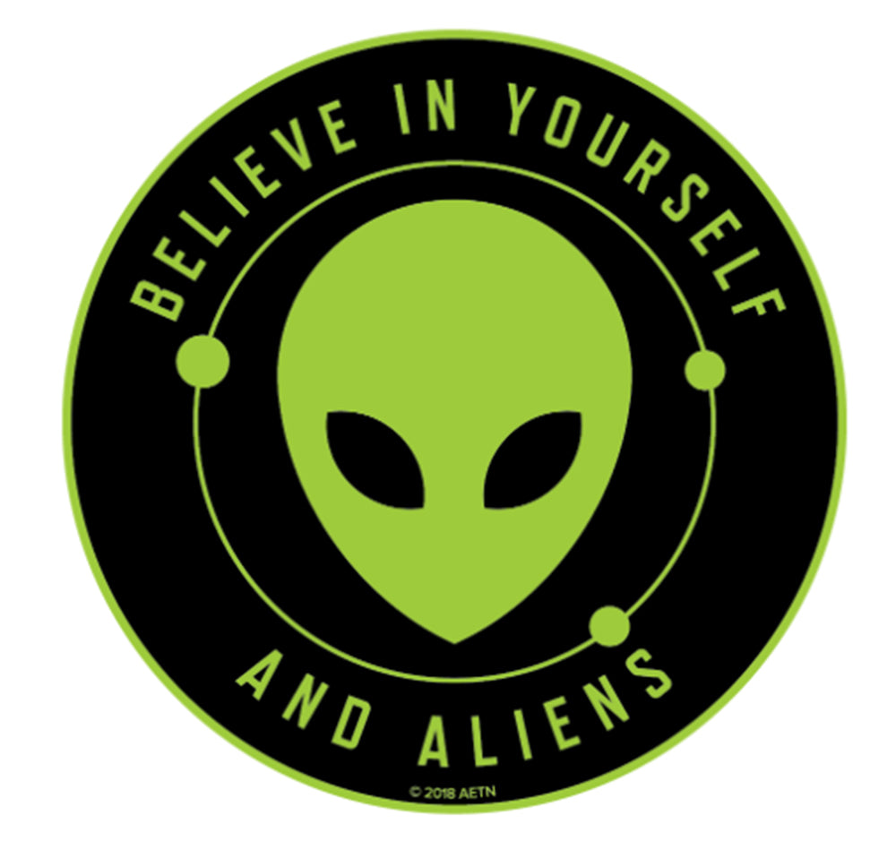 Believe in Aliens Magnet