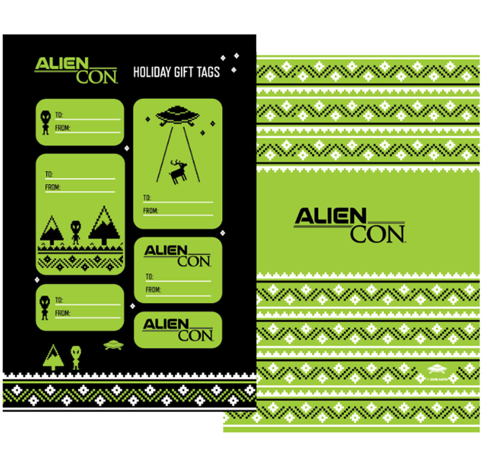 AlienCon Gift Tags