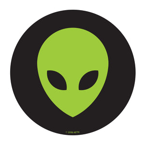 Alien Head Sticker