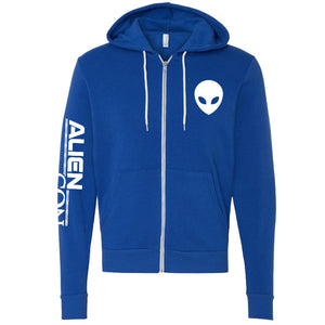 AlienCon Blue Zip Sweatshirt