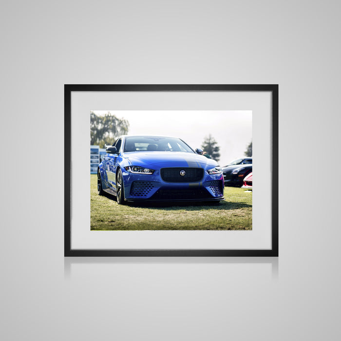 Jaguar Project 8 Framed Print