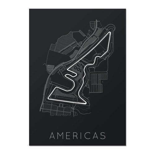 Circuit of the Americas Unframed Poster