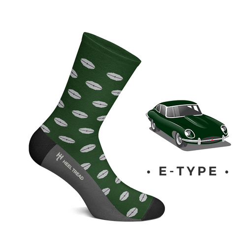 Jaguar E-Type Socks