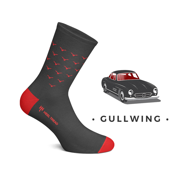 Mercedes Gullwing Socks