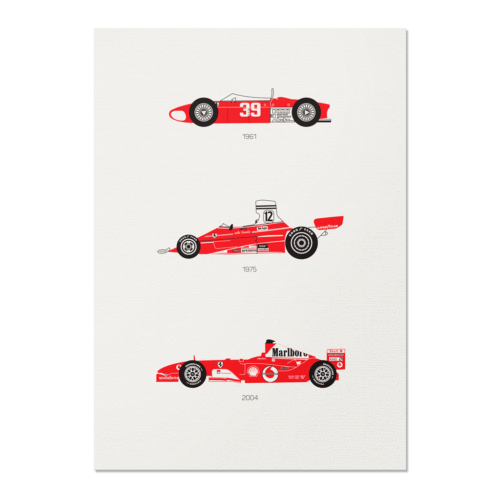 There is Only One Formula – Ferrari F1 Unframed Poster